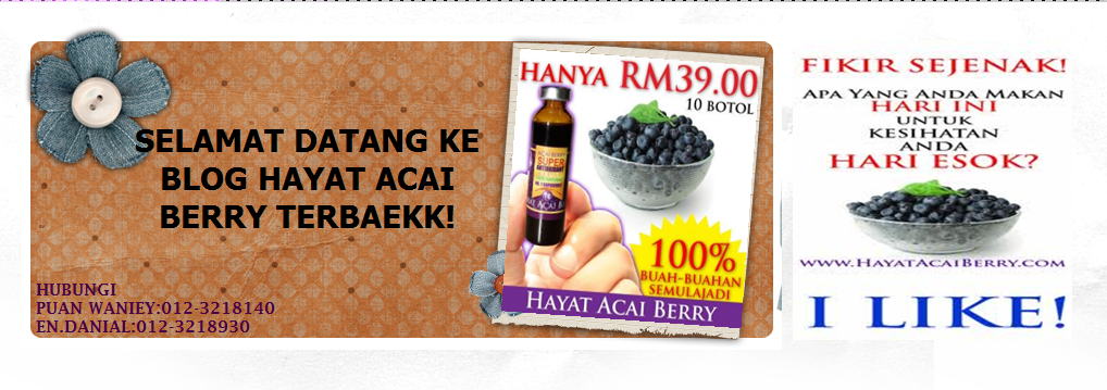 ::HAYAT ACAI BERRY TERBAEKK::