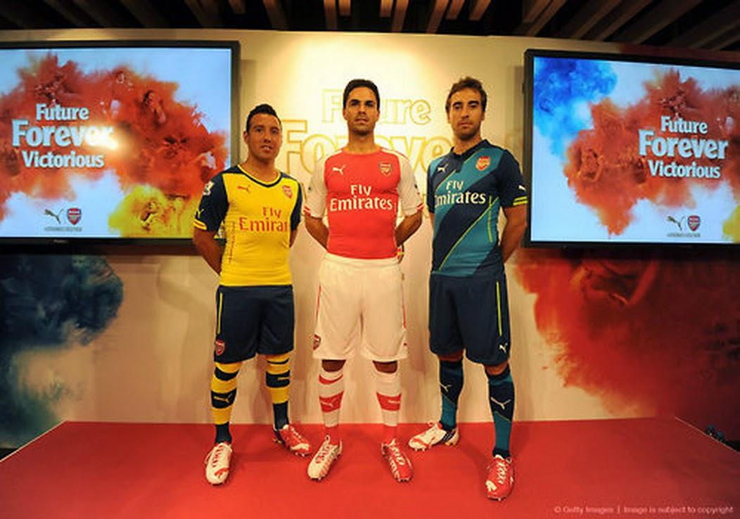 Estas son las camisetas más lindas de la temporada 2015  - Imagenes De Playeras De Futbol 2016