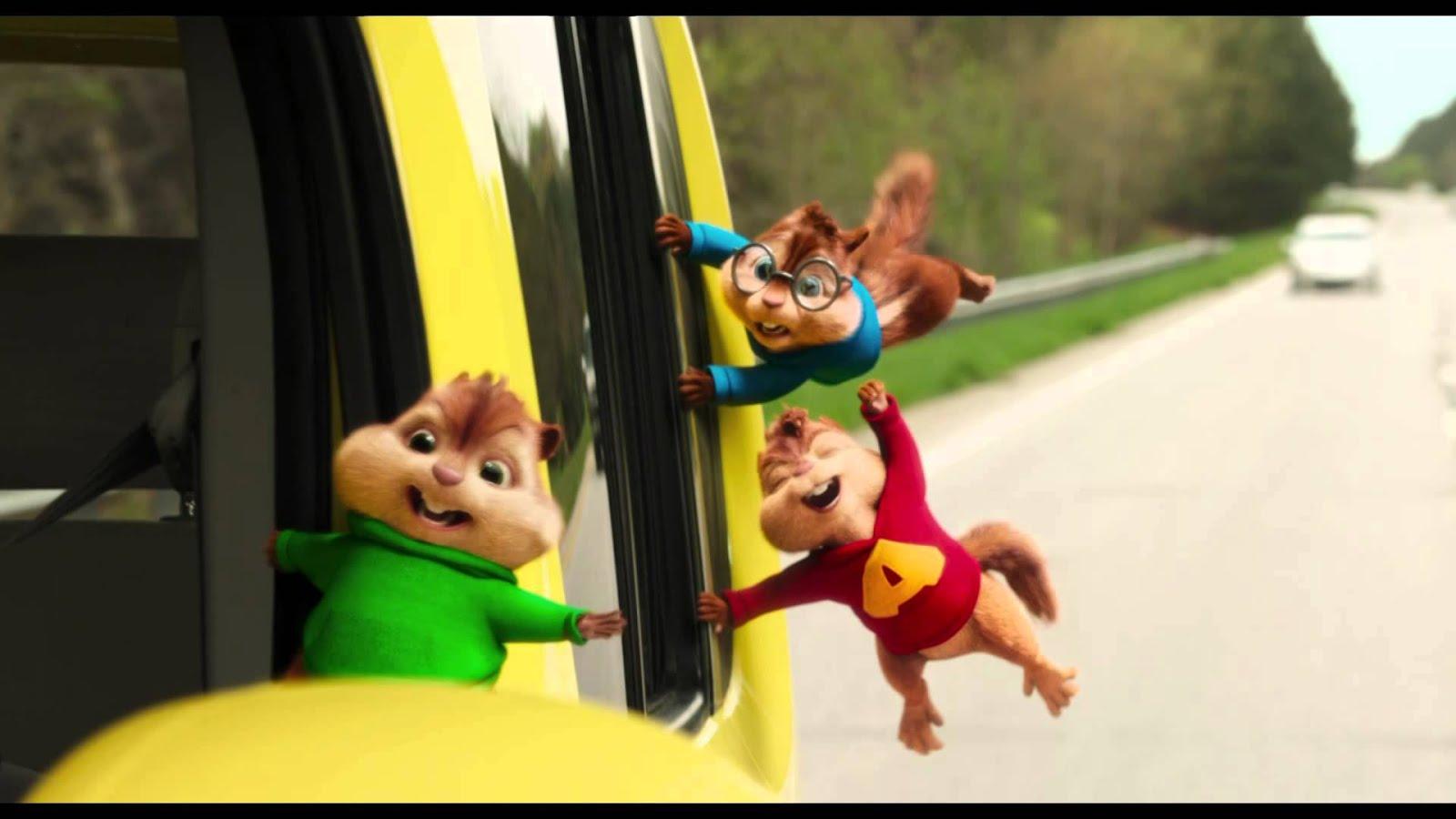 Alvin y las ardillas 2 ( HD 720P y español Latino) poster box cover