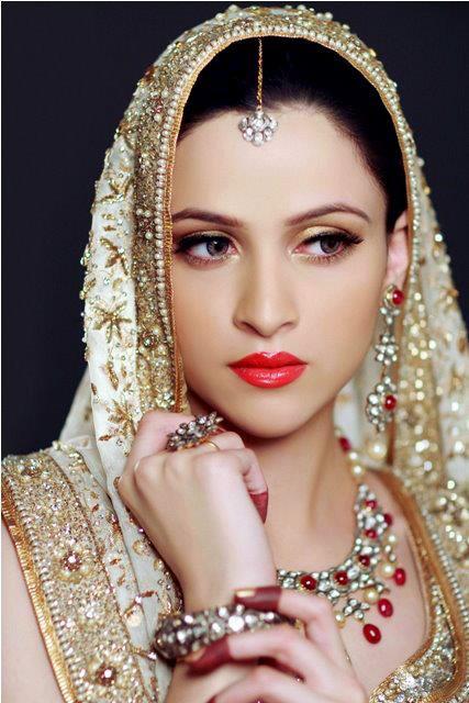 Bridal Makeup Model Images : Model Arij Fatima Bridal Photo shoot 2013 by Farrukh ...