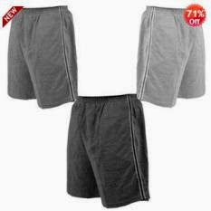 Hosiery Shorts (Pack Of Three) worth Rs.999 for Rs.294 Only at Shopclues (Shipping Charges RS.44 extra)