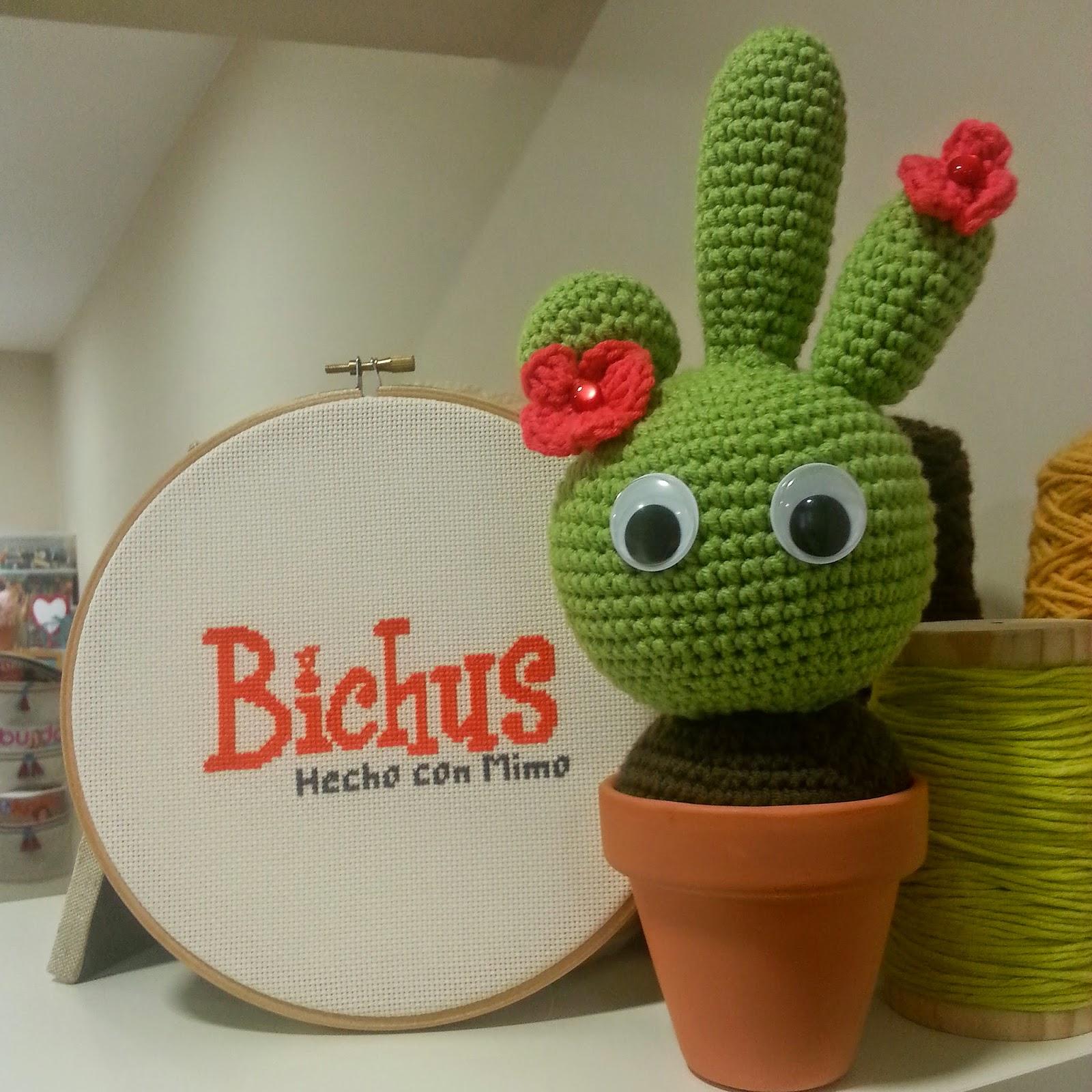 Amigurumi Cactus Paso A Paso : Bichus amigurumis cactus amigurumi patron paso a