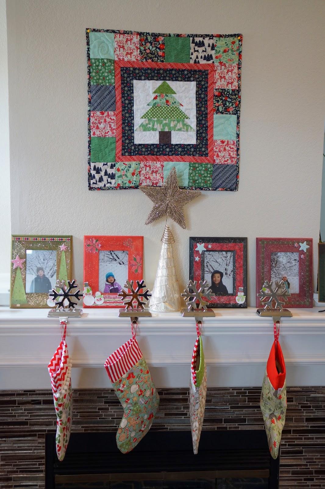 Lo ray me christmas tree wall hanging