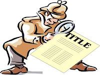 Optimizing Your Blog Titles As Keywords | Sharing SEO