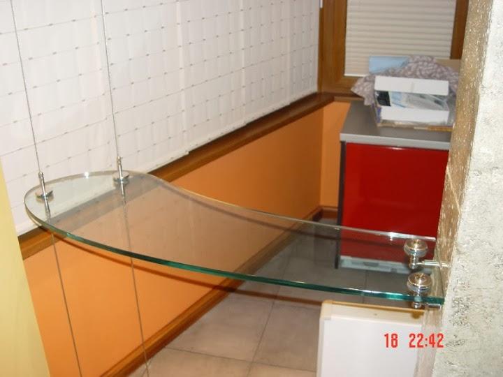 Висящ стъклен барплот 3