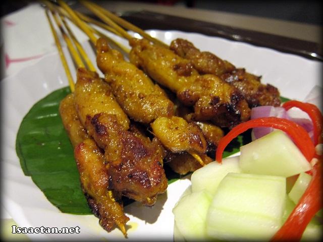 Chicken Satay - RM13.50 / 10sticks
