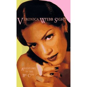 veronica webb, 90s models, black nail varnish, top black models