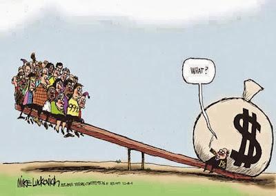 Στοιχεία Τράπεζας Credit Suisse: Το 1% του πληθυσμού της Ελλάδας κατέχει το 56,1% του πλούτου
