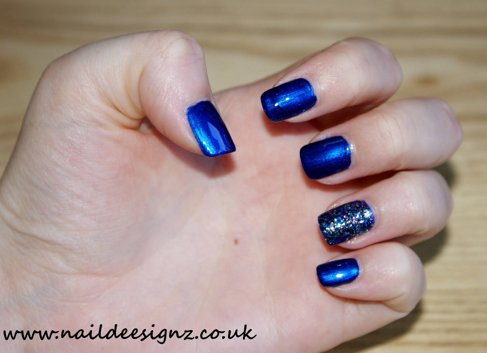 Easy at home nail designs for short nails home design christine 39 s nail designs easy nail designs for short nails blue with g prinsesfo Images