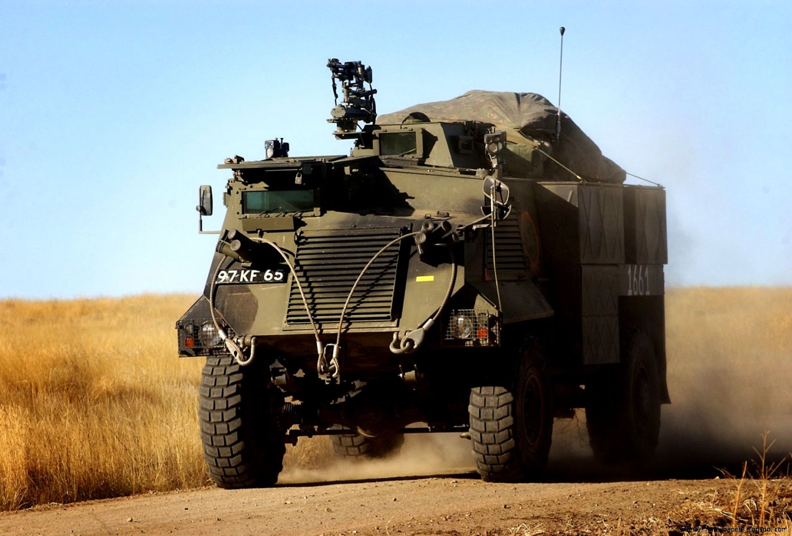 Saxon British Armored Vehicles