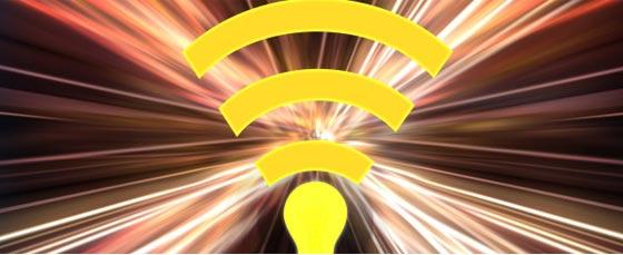 Li-Fi Tehnologi baru calon pengganti Wi-Fi dan 100x lebih cepat