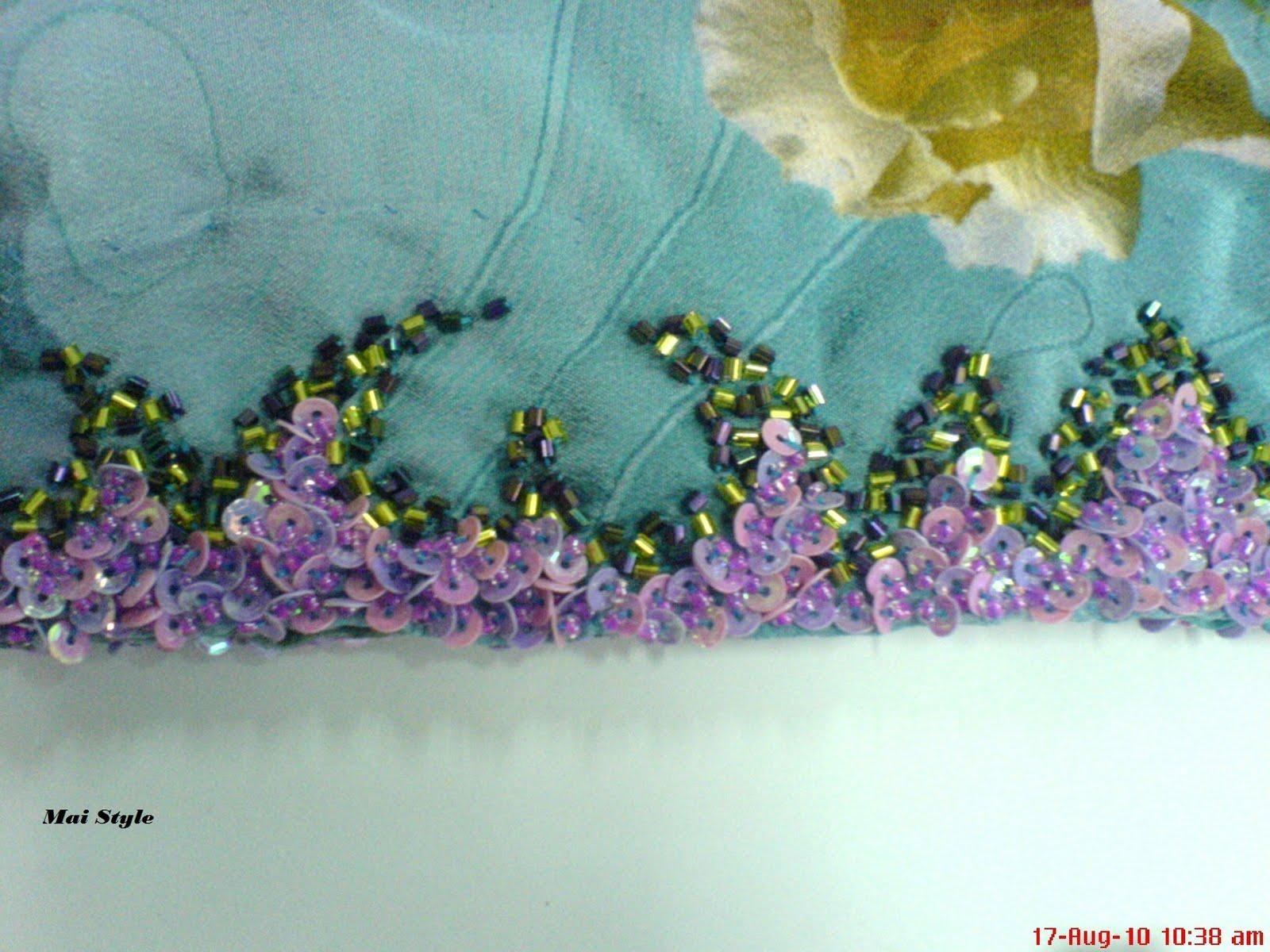 Tutorial Sulaman Manik Sekebun Bunga Koleksi Kreatif | Share The ...