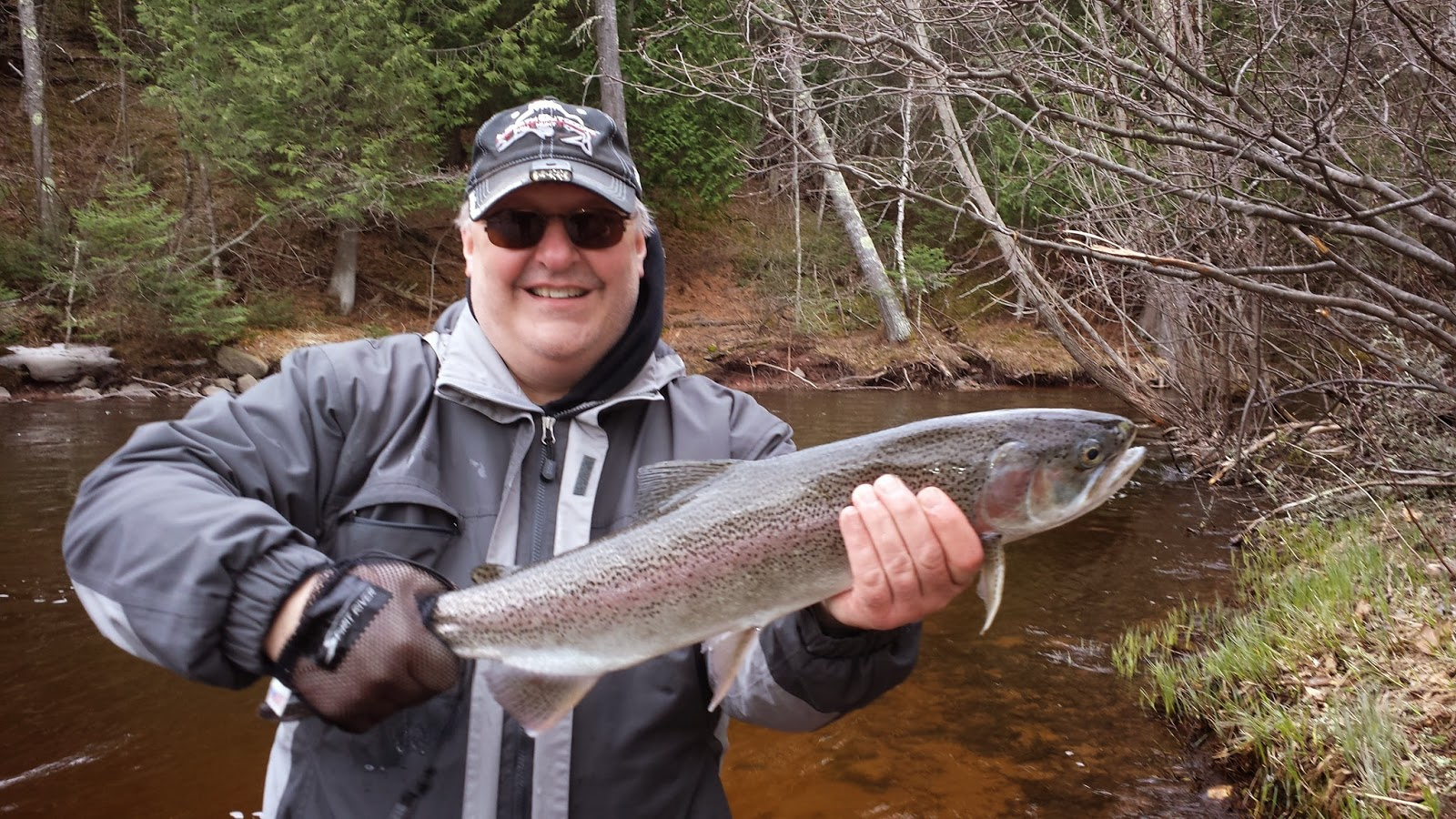 Spring 2015 brule river steelhead and brown trout report for Brule river fishing report