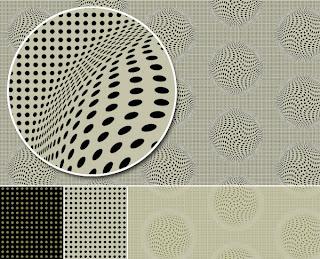 Polka Dot Op Art by Kim Buchheit
