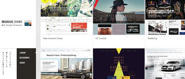 ECサイトデザイン2MUUUUU_CHANGウェブデザインショーケース