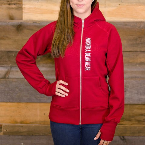 http://muskokabearwear.com/collections/boxing-day-sale/products/ladies-full-zip-hoody-in-algonquin-red?variant=1060589528