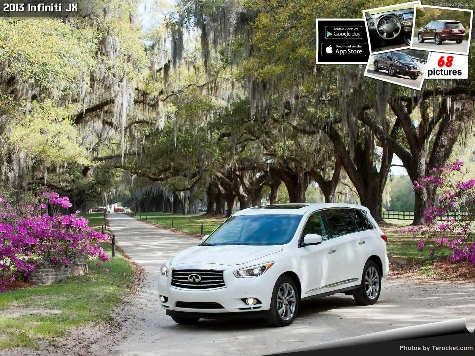 Hình ảnh xe ô tô Infiniti JX 2013 & nội ngoại thất