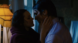 Bruce Wayne and Miranda Tate Share an Intimate Moment, the dark knight rises, Directed by Christopher Nolan