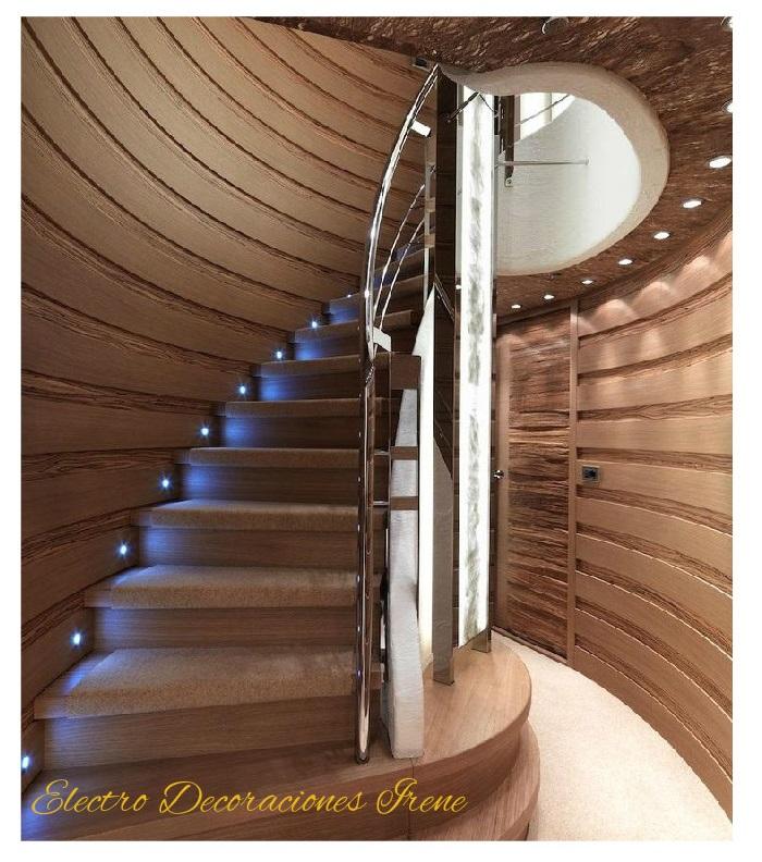 Electro decoraciones irene luces luminarias lamparas - Lamparas de escalera ...