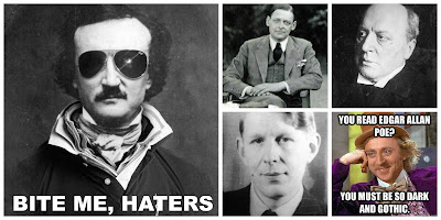 authors who hate edgar allan poe