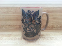 retro brown coffee cup on sale at etsy