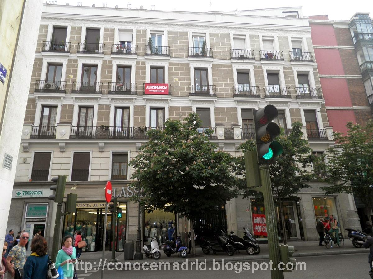 Conocer madrid el arrabal de santa cruz - Hotel catalonia madrid puerta del sol ...