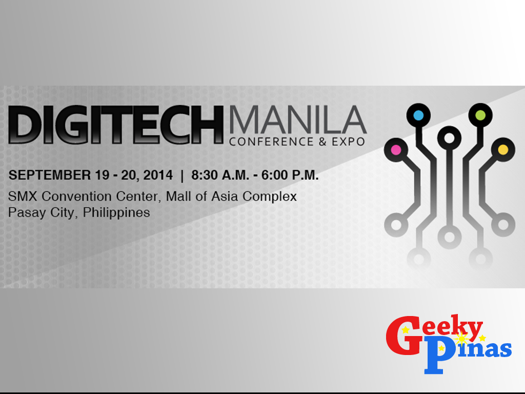 DIGITECH Manila Conference and Expo, first of its kind