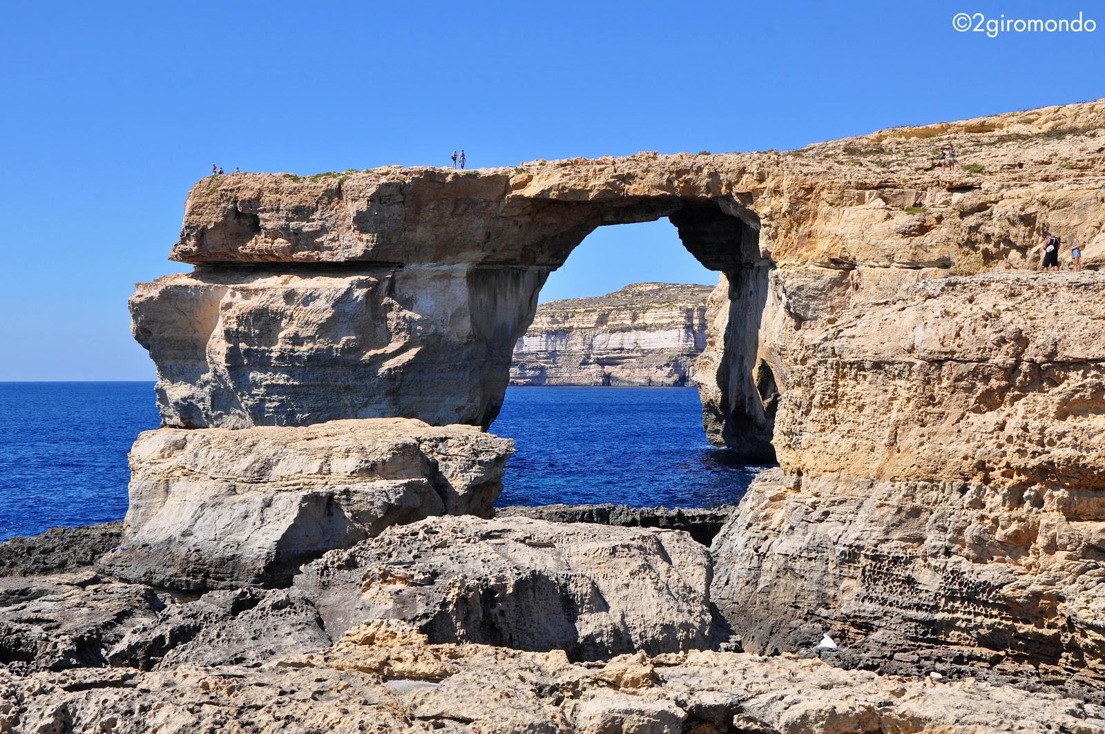 La finestra Azzura, Gozo
