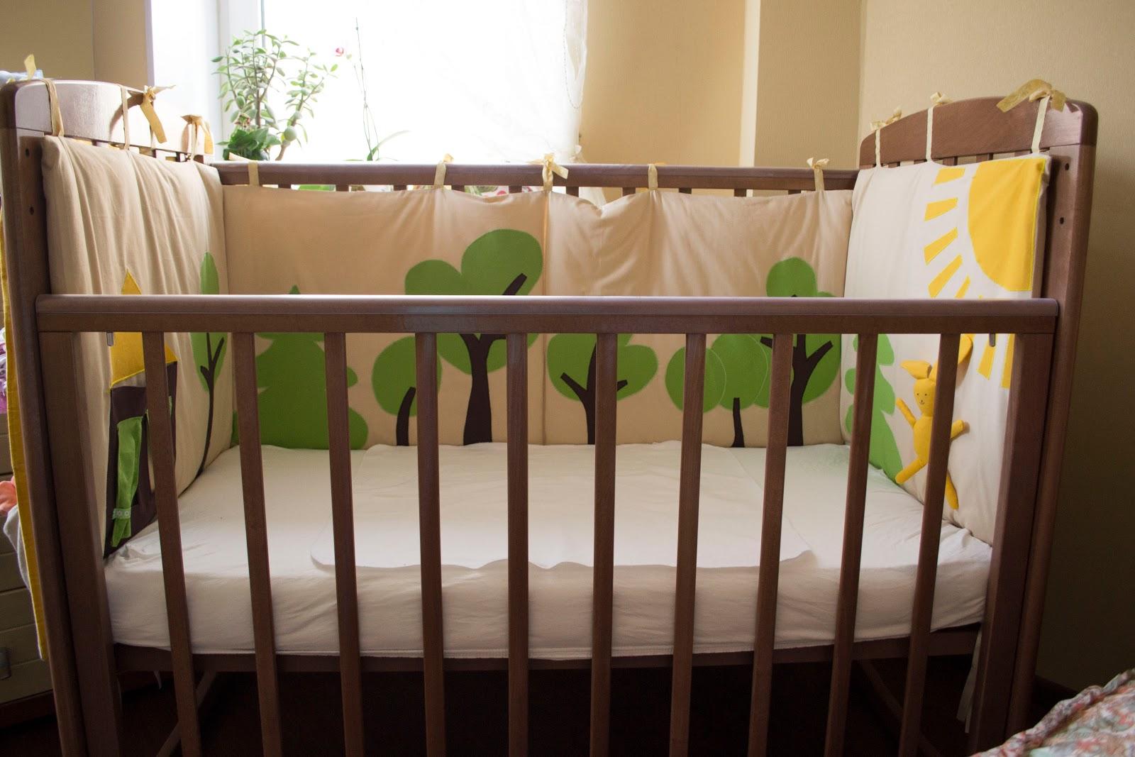 Украшение детских кроваток своими руками фото