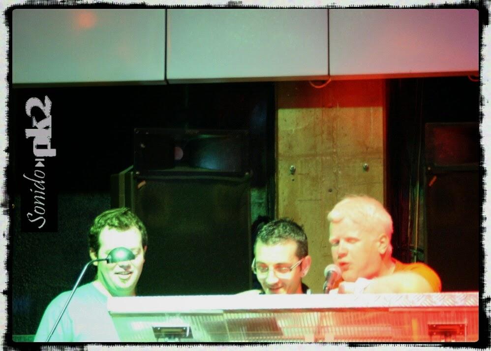 Dj Nen, Juan Beat y Jimmy en Pk2 Allstars 2011 - Sala Non