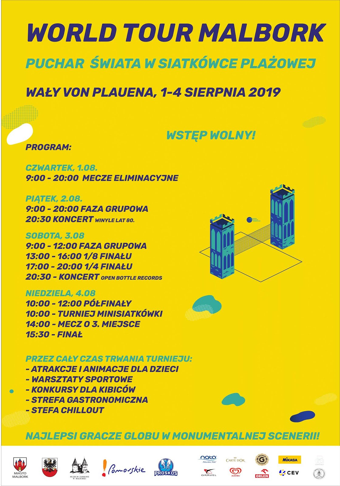 Program World Tour Malbork