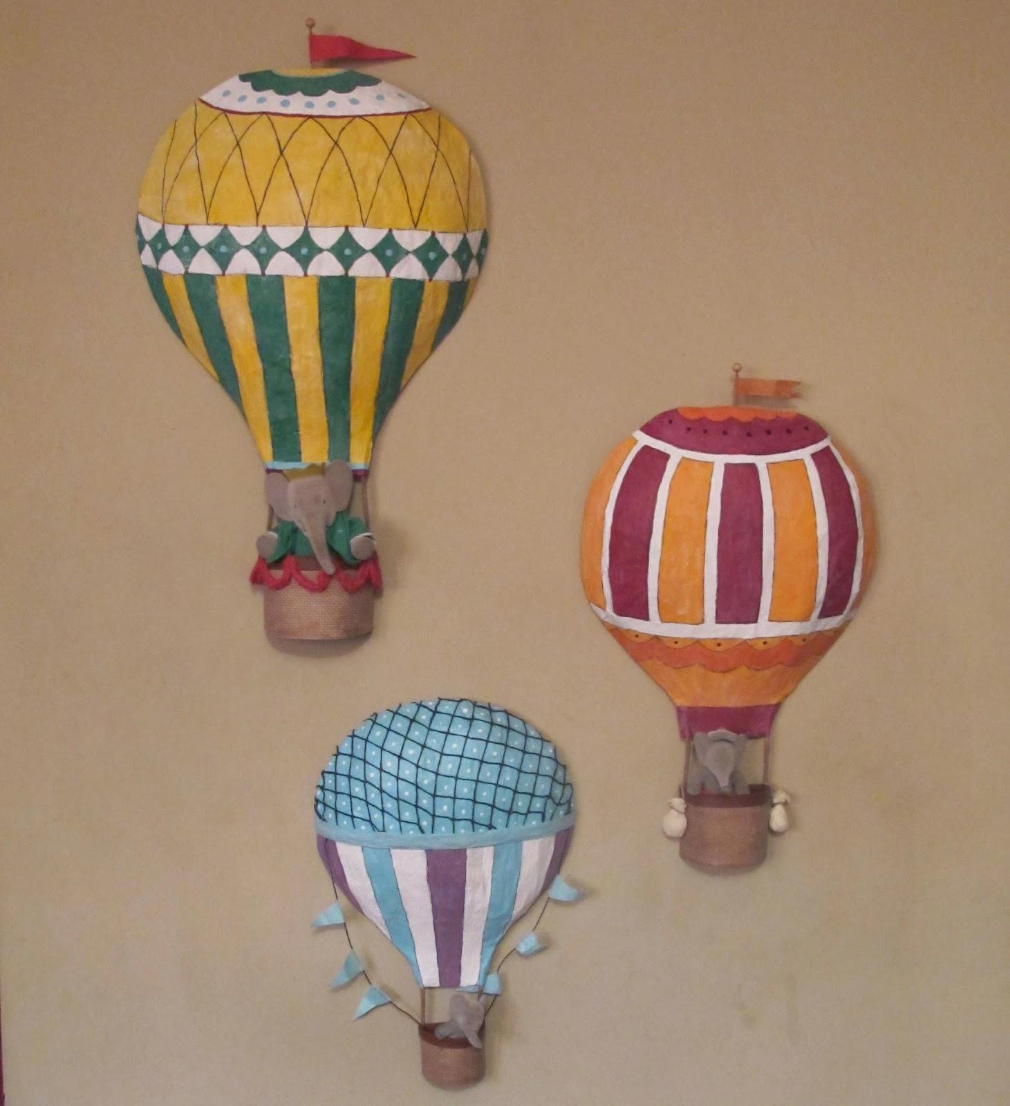 M ann m rainbow in the sky hot air balloon set for How to make a small air balloon