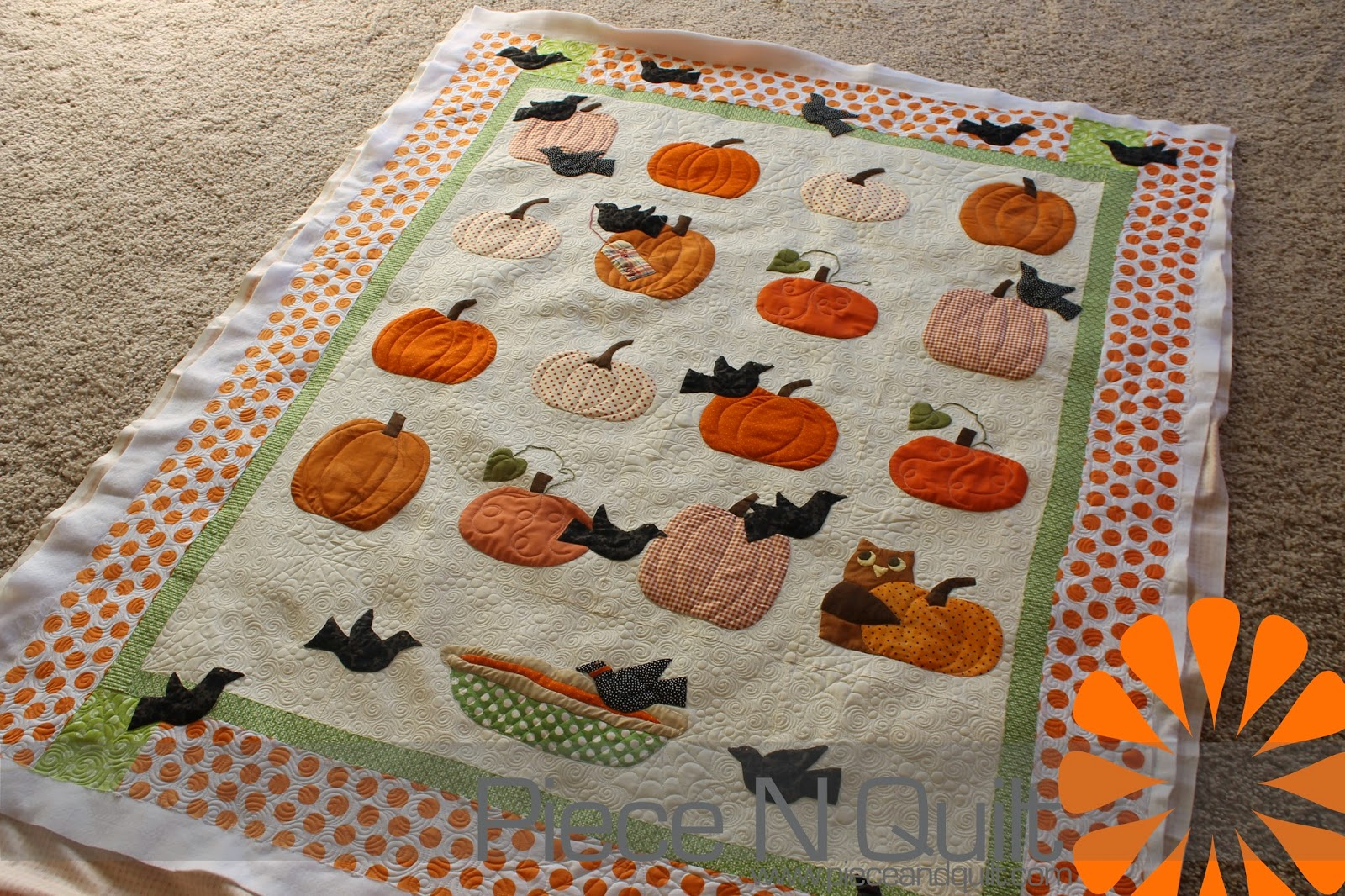 Piece N Quilt: Pumpkin Quilt : piece n quilt - Adamdwight.com