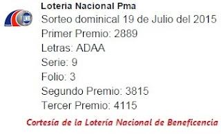 resultados-sorteo-domingo-19-de-julio-2015-loteria-nacional-de-panama