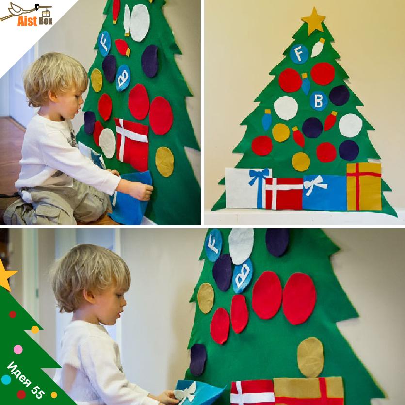 Игрушки к новому году для детей своими руками