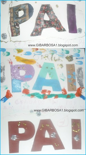 Cartão Dia dos Pais Lembrancinha
