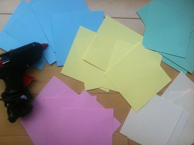 Materiales para aprender a hacer flores de papel