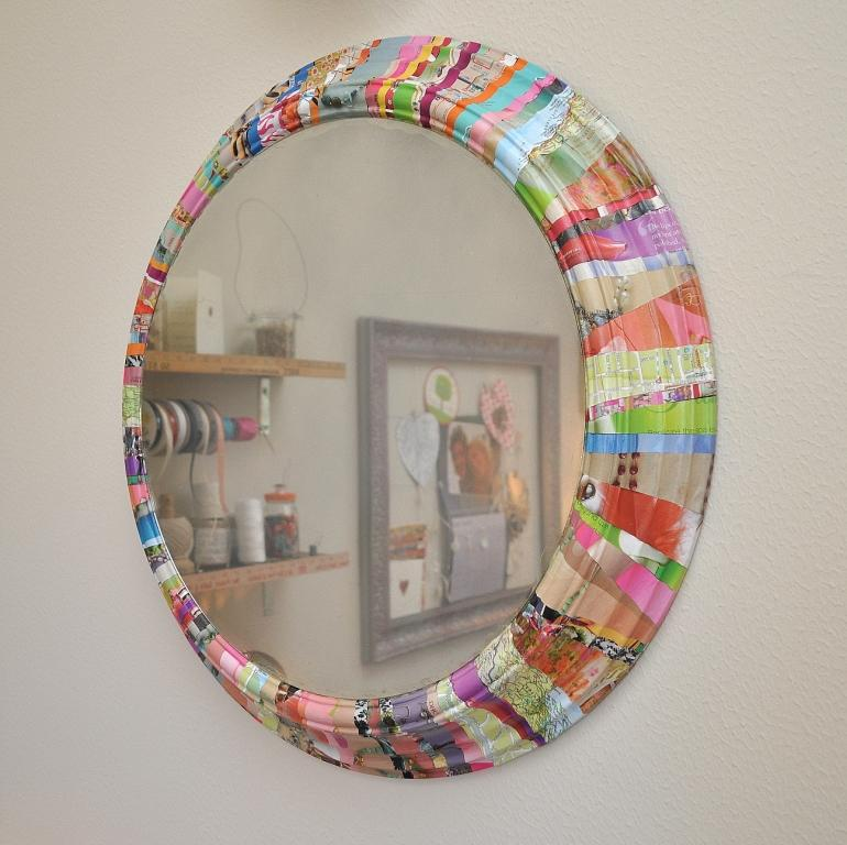 the art of up cycling diy mirror frame ideas you can make with junk reuse repurpose upcycle. Black Bedroom Furniture Sets. Home Design Ideas