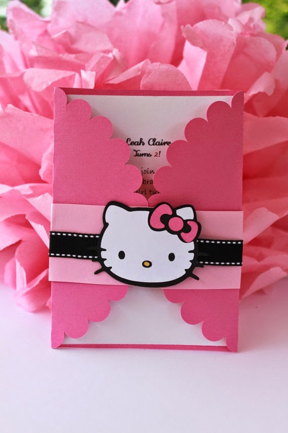 Aicaevents india kitty theme birthday party for baby girls birthday invitation stopboris Image collections