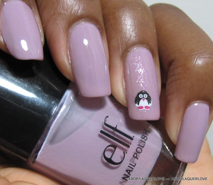 ANOTHER Bottle of Polish?!: Elf - Lilac