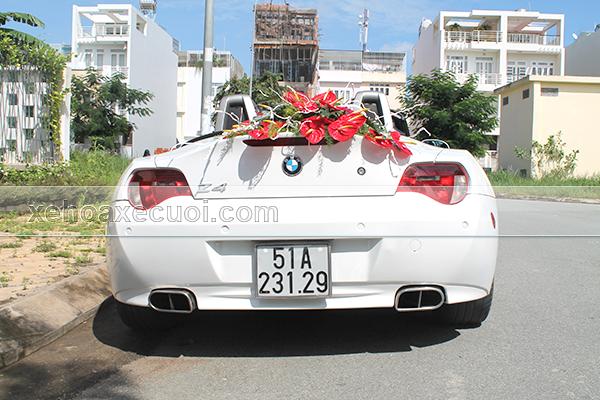 Cho thuê xe cưới hỏi BMW Z4