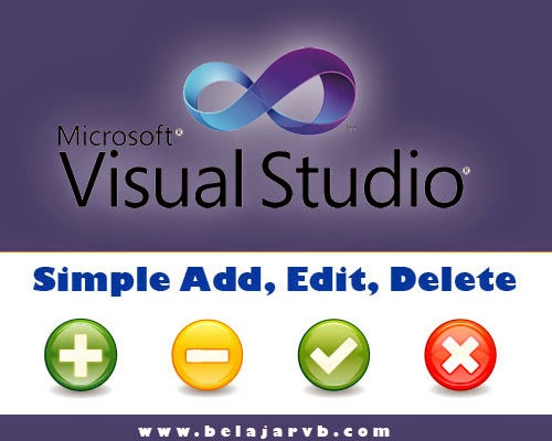 Simple Add, Edit, Delete VB 2010 DB Access 2007 (accdb)