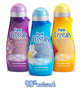c35946095e The Purex Crystals are 92% natural crystals that go in at the start of the  wash