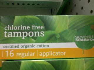 Chlorine Free Tampons