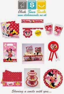 contoh mini mouse label