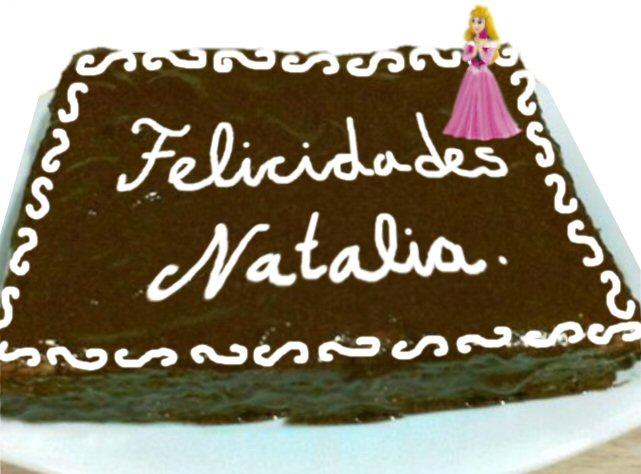 Felicidades Natha TartaNatalia