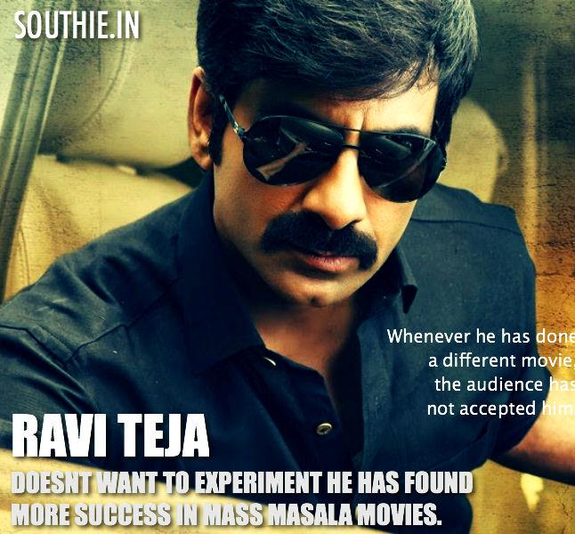 Ravi Teja doesn't like to experiment. Ravi Teja Says that whenever he has made a different movie, it has flopped. Ravi teja, Mass Maharaja, Ravi teja Hardworking, Bengal tiger, Stylish, Mass, Ravi Teja,
