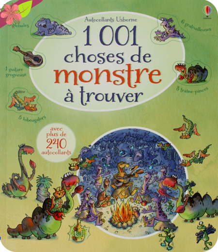1001 choses de monstre à trouver  - éditions usborne