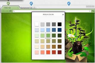 Create Custom Google Chrome themes