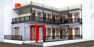 20 desain rumah kost mahasiswa dan karyawan tren 2015